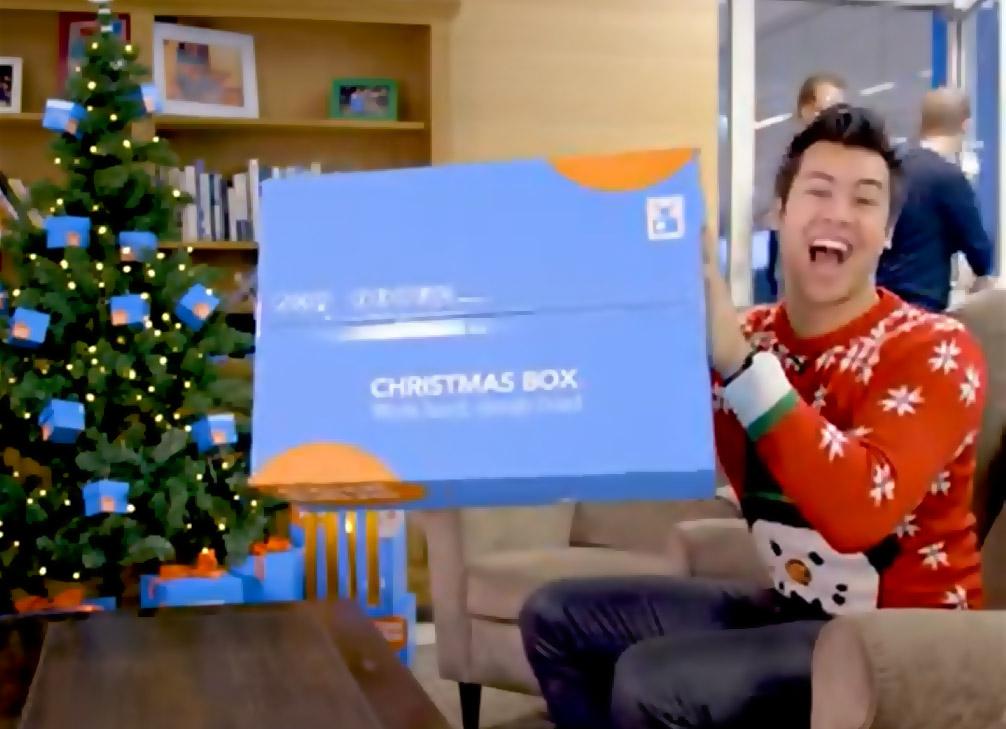 Coolblue kerstpakket: wij zijn cool