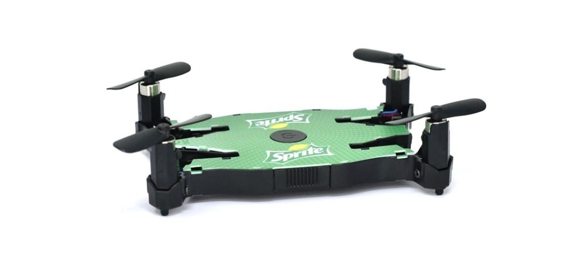 drone bedrukken logo tech relatiegeschenk gadget idee