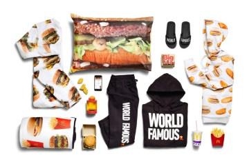 mcdonalds merchandise kledinglijn 2018 mcdelivery lancering