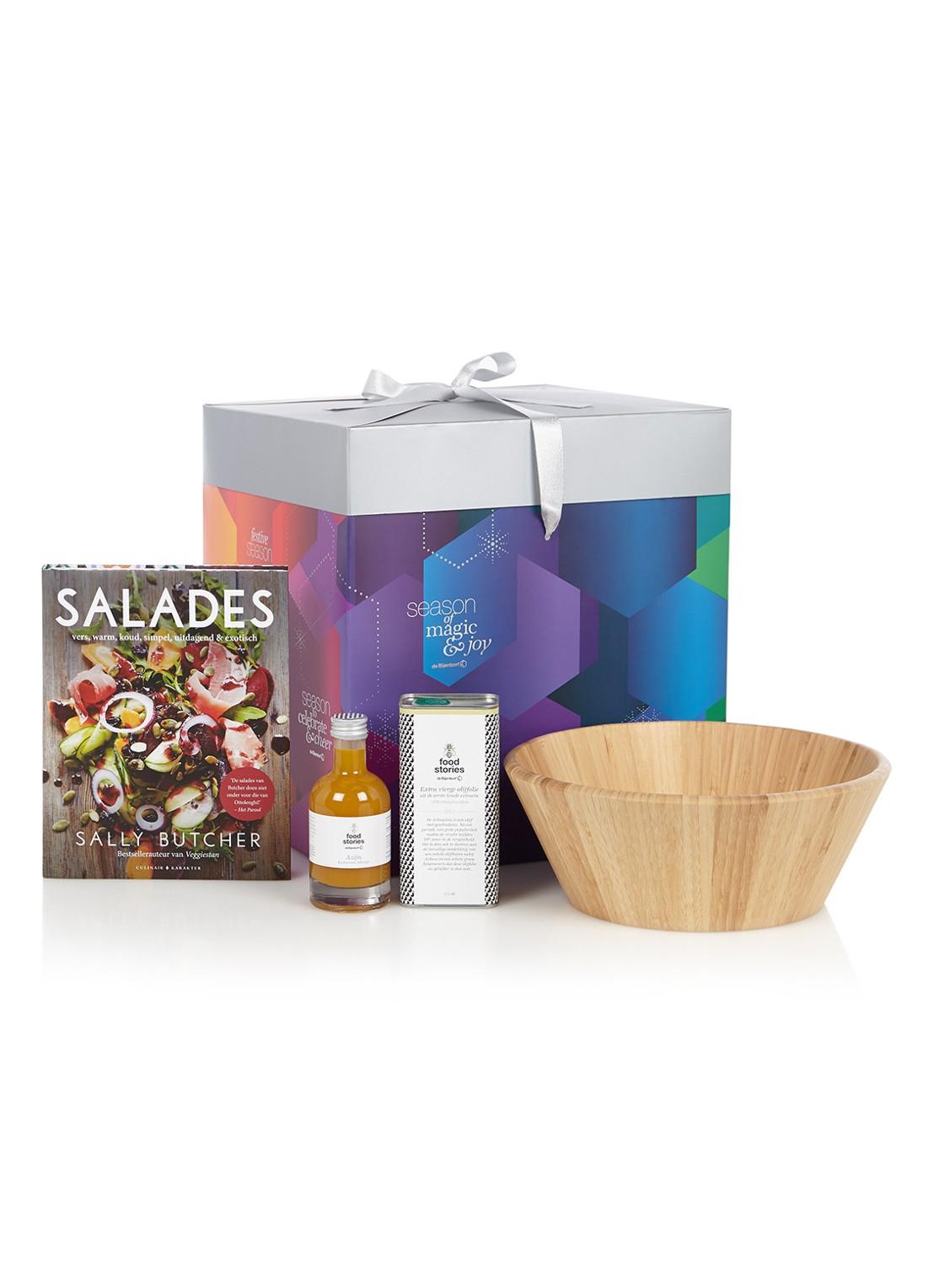 bijenkorf kerstpakketten 2018 salade receptenboek