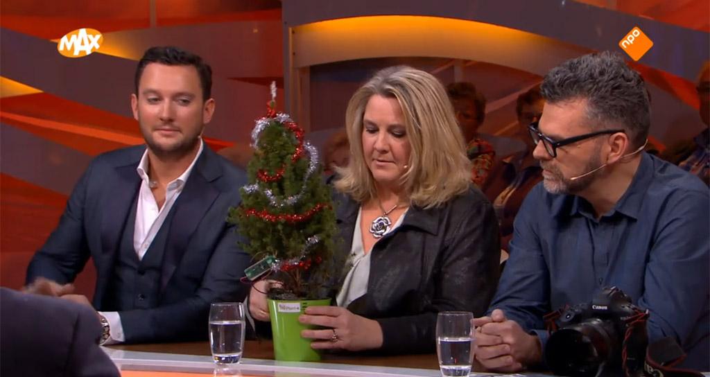 kerstboom maakt eigen stroom eplant wageningen omroep max NPO uitzending tv
