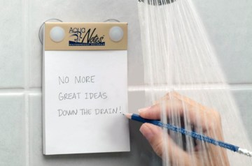 douche notitieblokje waterproof noteblok bedrukken relatiegeschenk