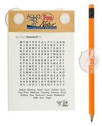 waterproof notitieboekje douche notitieblok sudoku puzzel