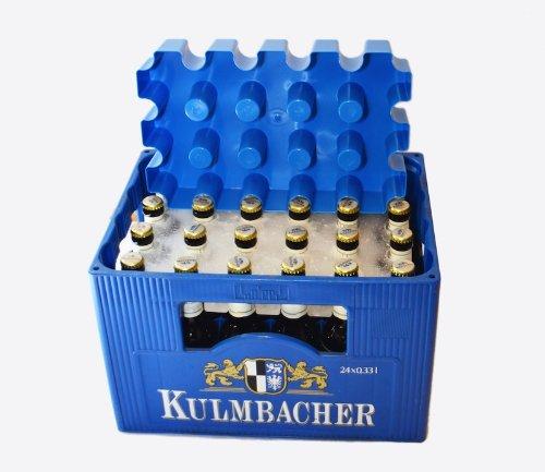 ijsblok bierkrat koeler blauw mal bier gadget geschenk