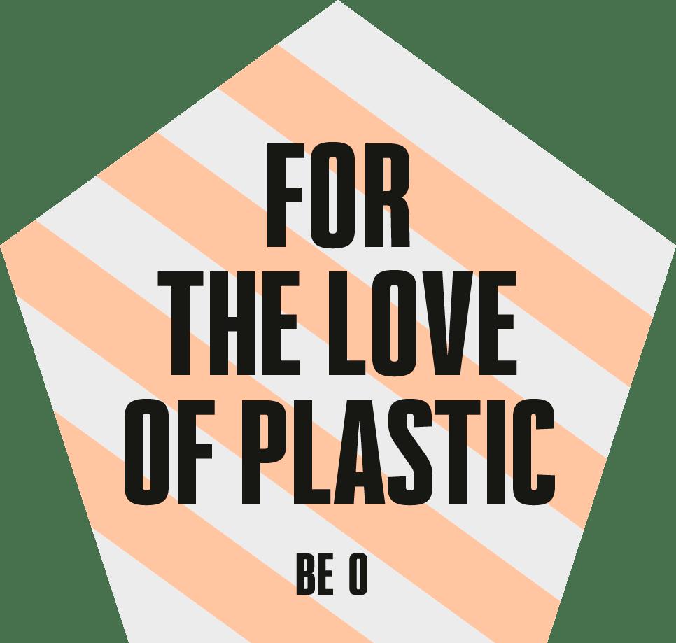 BE O_Love_ plastic drinkflessen