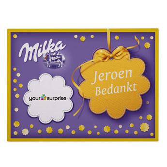 bedrukte milka giftbox secretaressedag geschenk tip