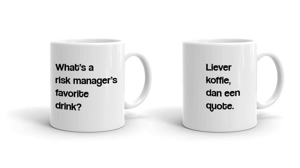 originele koffiemok quotes die ook grappig zijn