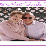 How to Meet Single Seniors
