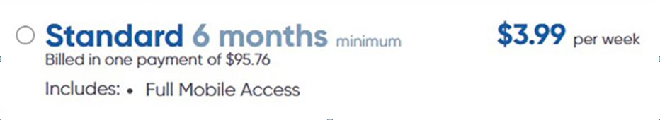 Standard Subscription for OutTime