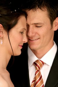 couple face