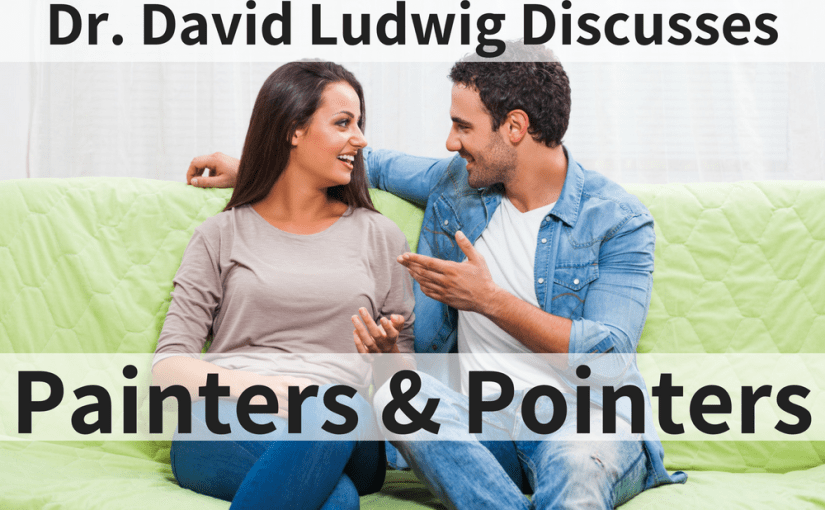 Having a problem with communication? Find out if you're a painter or a pointer. Knowing which type you are will help you better communicate with your spouse. Dr. David Ludwig explains how your communication style could be getting in the way of satisfying conversation and how to overcome it.