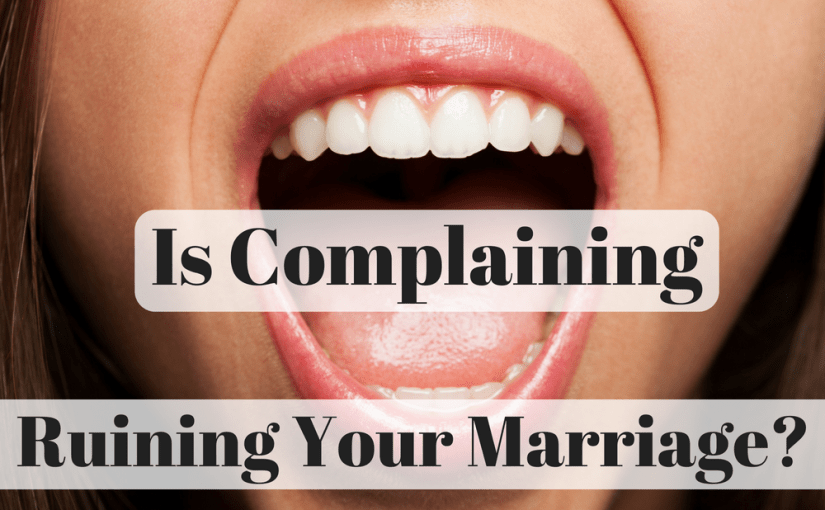 "Do you find yourself making statements like ""we never go on dates"" or ""he doesn't care what I think or want""? Do you find yourself constantly complaining about your spouse? In today's episode, Laura and Vincent discuss ""over-generalizations"" that come across as complaining. They give tips on how to reduce your complaining."