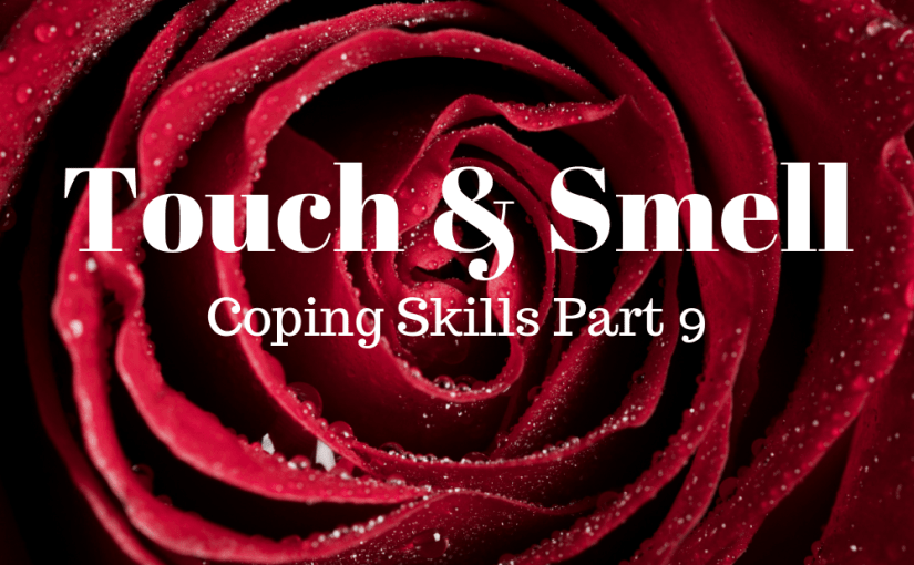 "Touch and smell are two of the five senses. They are a great way to ground your mind and body so that you are ""in the moment."" Being ""in the moment"" requires your mind and body to slow down thus reducing your anxiety response. In this episode, Vincent and Laura discuss ways that you can use touch and smell to restore your mental health."
