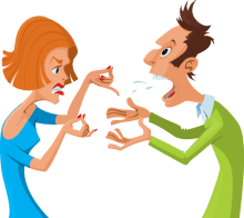 How do you respond to your spouse's anger?