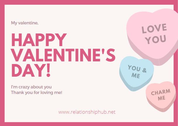 how to say happy valentine to my boyfriend