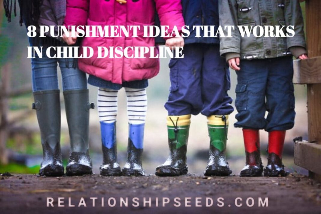 8 IDEALS ON HOW TO PUNISH YOUR CHILD.