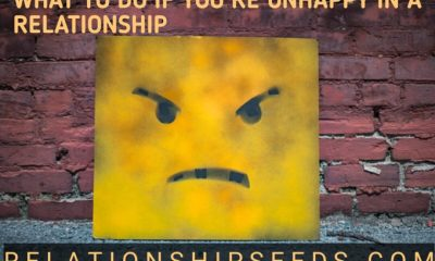 what to do if youre unhappy in a relationship