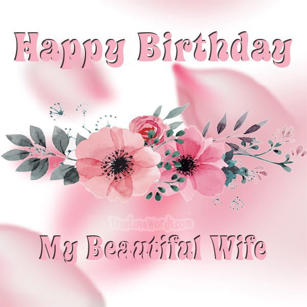 birthday message for wife image 5