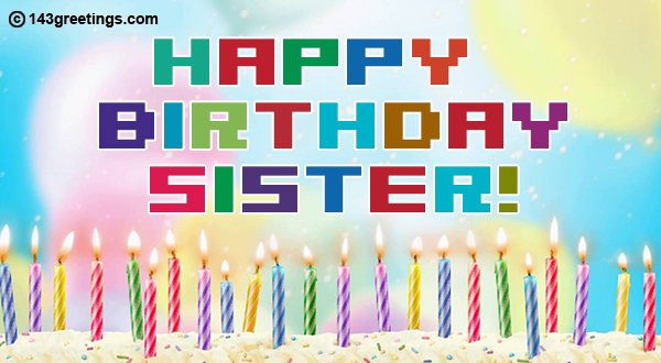 birthday message for sister image 5