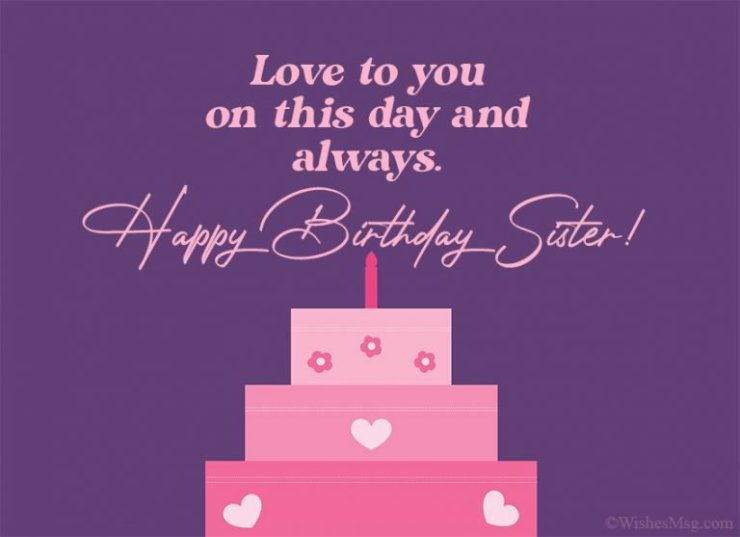 birthday message for sister image 6