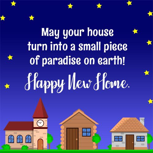 new home quotes blessings