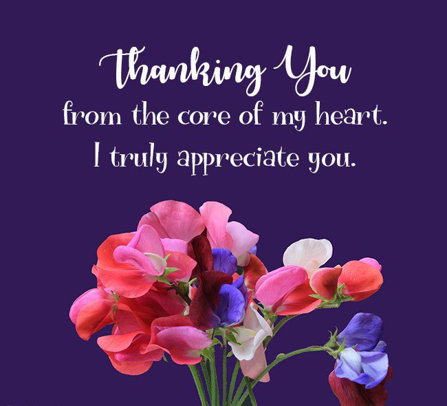 thank your for your support