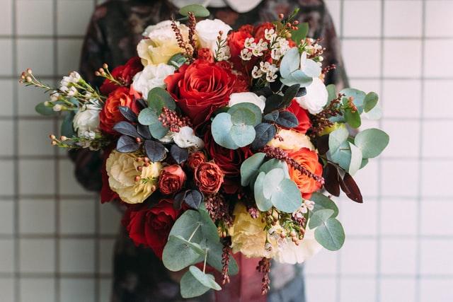 buy him flowers