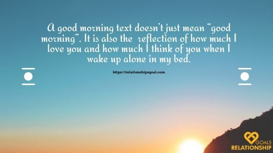 Good Morning Message for her