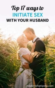 Initiate Sex with Your Husband