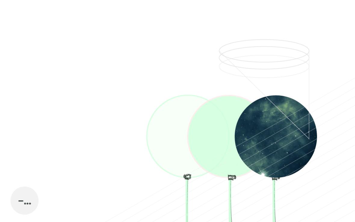 Abstrakt lek med färgade linser