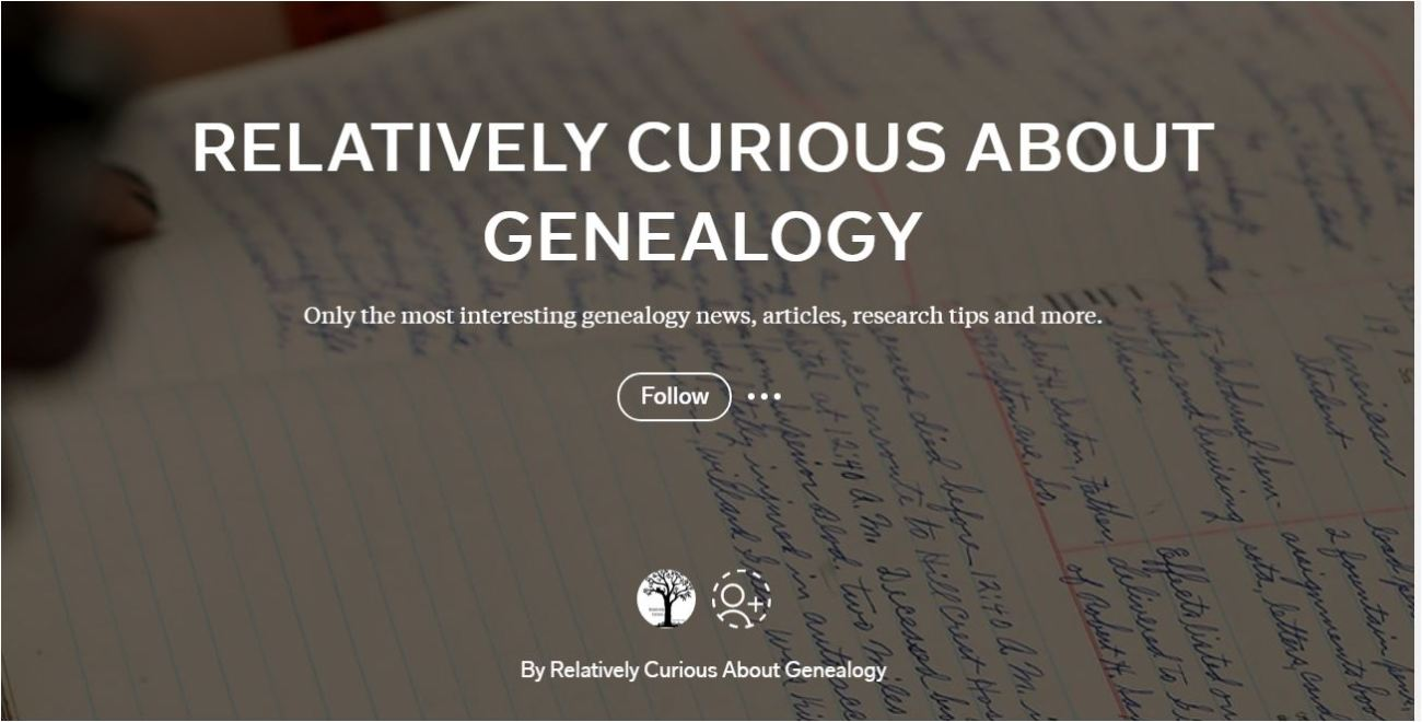 RelativelyCurious Flipboard Genealogy News Magazine