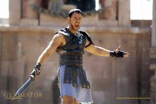 russel crowe ridley scott gladiator training
