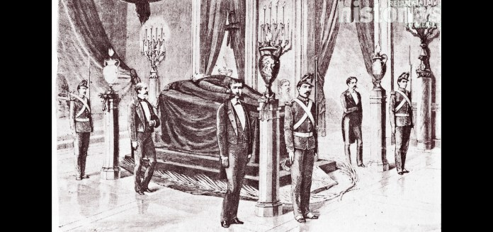 Resultado de imagen para Fotos del fallecimiento de Benito Juárez