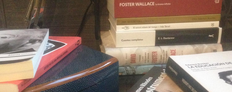 mis lecturas 2015. Libros. listado. Relatos en construcción