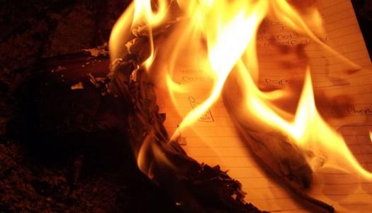 El oficio de escribir (V): La maldición