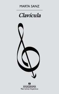 clavícula, marta sanz, anagrama, portada