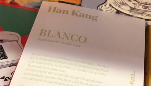 Blanco, la expresión de las emociones de Han Kang
