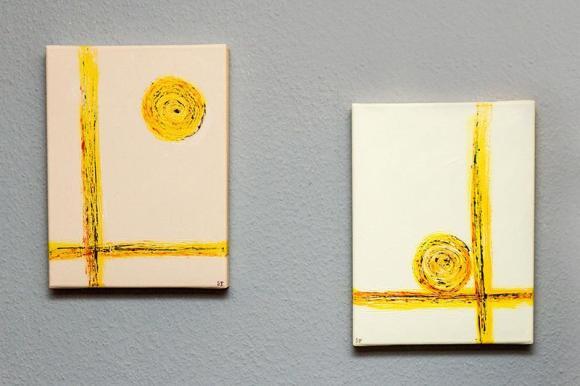 Zwei Gemälde