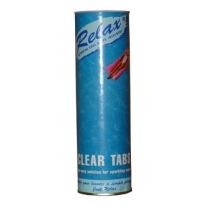 Relax Clear Tabs Tube RCH055