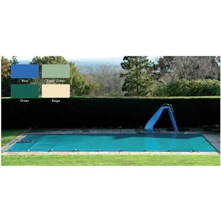 Blue Poolsaver Cover For Richmond Wooden Pool