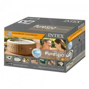 Intex Pure Spa Plus – 4 Person Bubble Therapy Hot Tub
