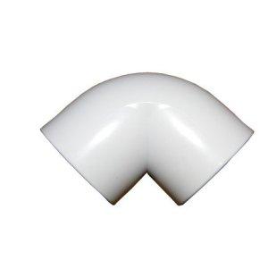1.5in 90 Deg Elbow P P White  PPF10810