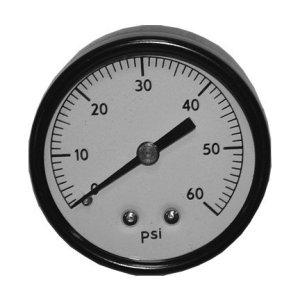 Pressure Gauge Back Mount Fit TFT10003