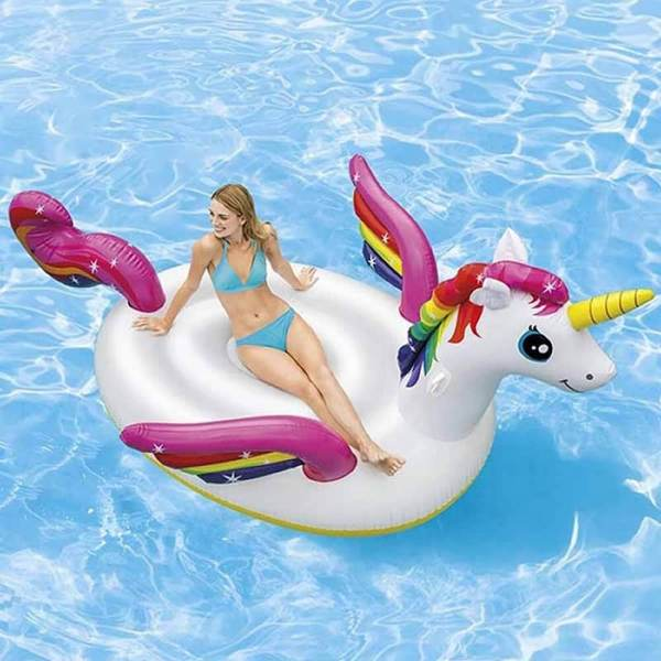 IntIntex Inflatable Mega Unicorn Island