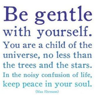 12 Relax and Succeed - Be gentle with yourself