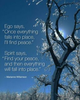 25 Relax and Succeed - Ego says once everything falls into place