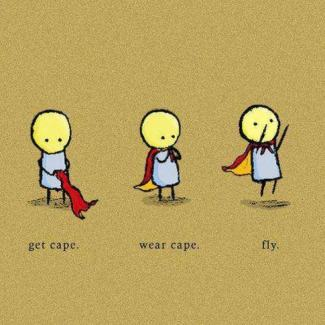 60a Relax and Succeed - Get cape wear cape fly