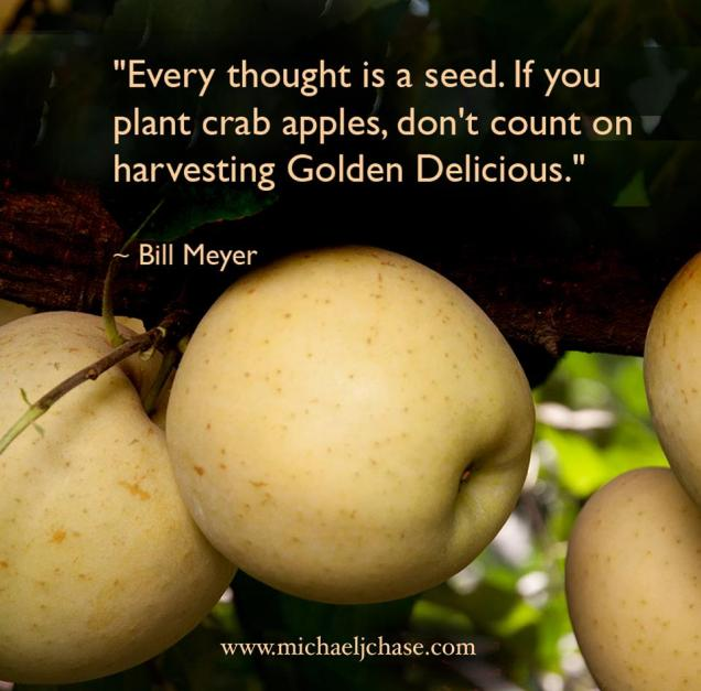 116 Relax and Succeed - Every thought is a seed