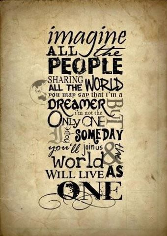 170 Relax and Succeed - Imagine all the people