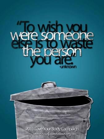 210 Relax and Succeed - To wish you were someone
